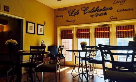 John F. Givnish Funeral Home – Reception Area - Philadelphia, PA