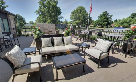 Funeral Home Guest Area - Columbus, OH