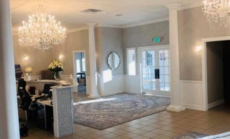 Skorupski Family Funeral Home & Cremation Services - Essexville, MI – Funeral Home Entrance