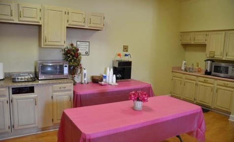 Cone Funeral Home – Kitchen Area - Bowling Green