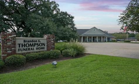 thompson funeral home ponchatoula exterior
