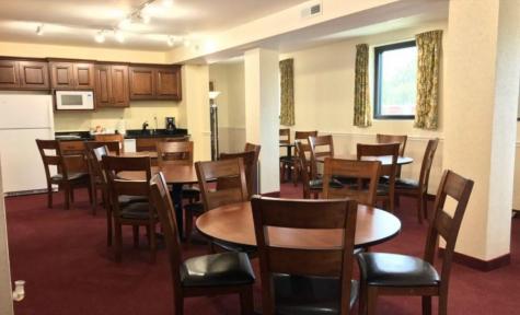 Reception Area at Larkin & Garcia Funeral Care in Kansas City, KS