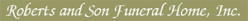 Roberts and Son Funeral Home, Inc. - Blackwell