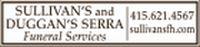 Sullivan's and Duggan's Serra Funeral Services