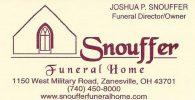 Snouffer Funeral Home