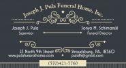 Joseph J Pula Funeral Home