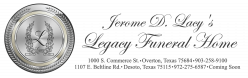 Jerome D. Lacy's Legacy Funeral Home - DeSoto