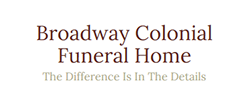 Broadway Colonial Funeral Home - Newton