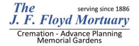 The J. F. Floyd Mortuary, Crematory & Cemeteries