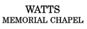 Watts Memorial Chapel