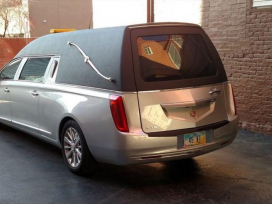 Funeral Hearse by Schoedinger Funeral and Cremation Service - Midtown
