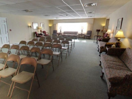Heart & Hope Funeral Home by Schoedinger – Linden - Funeral Viewing Area