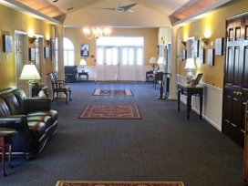 John F. Givnish Funeral Home – Funeral Home Main Hallway - Philadelphia