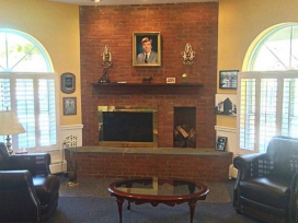 John F. Givnish Funeral Home – Philadelphia, PA - Fireside Lounge